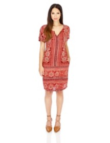 Women's Lucky Brand Short Sleeve Dress