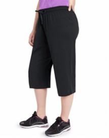 Women's Champion Jersey Capri Plus Size