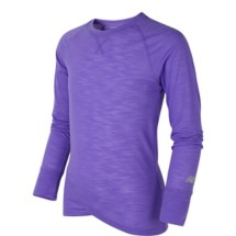 Youth Girls' New Balance Long Sleeve Performance T-Shirt