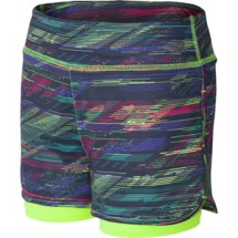 Youth Girls' New Balance Layered Bike Short
