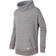 Youth Girls' New Balance Funnel Neck Sweatshirt