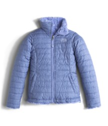 Youth Girl's The North Face Mossbud Swirl Reversible Jacket