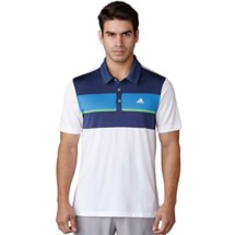 Men's adidas Climacool Engineered Block Golf Polo