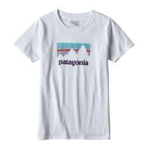 Women's Patagonia Shop Sticker Cotton Responsibili-Tee