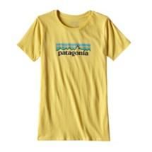 Women's Patagonia Pastel P-6 logo Cotton Crew T-Shirt