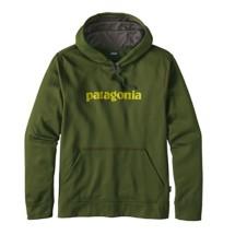 Men's Patagonia Text Logo Polycycle Hoody