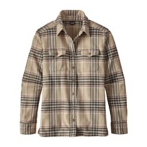 Women's Long Sleeved Fjord Flannel Shirt
