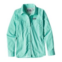 Women's Patagonia Long-Sleeved Anchored Bay Button Up Shirt