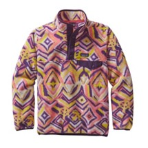 Girls' Patagonia Lightweight Synchilla Snap-T Fleece Pullover