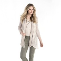 Women's Miss Me Ruched And Ready Cardigan