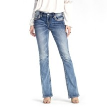 Women's Miss Me Midnight Hour Mid-Rise Bootcut Jean