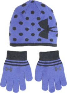 Preschool Girls' Under Armour Beanie Glove Combo