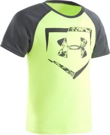 Preschool Boys' Under Armour Home Plate Logo Raglan T-Shirt