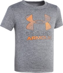 Preschool Boys' Under Armour Big Logo Hybrid T-Shirt
