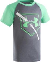 Preschool Boys' Under Armour Breaking Bat Raglan T-Shirt