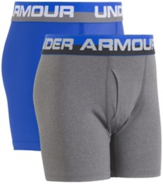 Youth Boys' Under Armour Perfomance 2 Pack Boxer