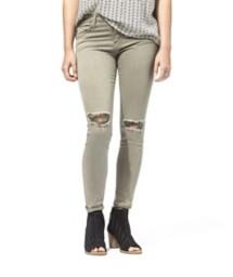 Women's Flying Monkey Distressed Crop Skinny Jean