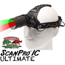 Wicked Hunting Lights ScanPro IC Ultimate Night Hunting Headlamp Kit