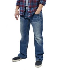 Men's Seeded & Sewn Noah Relaxed Stretch Straight Jean