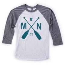 Sota Clothing MN Paddle Raglan Baseball 3/4 Sleeve Shirt