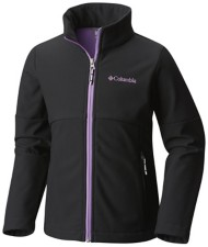 Youth Girls' Columbia Brookview Softshell