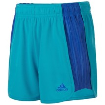 Youth Girls' adidas Mesh Block Short