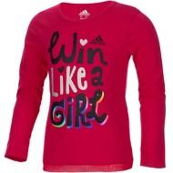 Girls' adidas Criss-Cross Long Sleeve Shirt