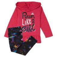 Infant Girls' adidas Run Like A Girl Tight Set