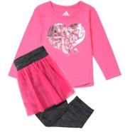 Infant Girls' adidas All Heart Flirt Set
