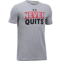 Youth Boys' Under Armour Never Quits T-Shirt