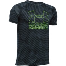 Youth Boys' Under Armour Big Logo Hybrid Printed T-Shirt