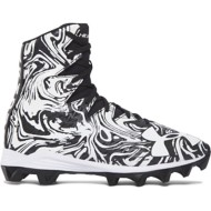 Youth Boys' Under Armour Highlight Lux Jr. Rubber Molded Football Cleats