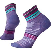 women's Smartwool PhD Outdoor Ultra Light Pattern Mini Socks