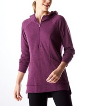 Women's Lucy Om 1/4 Zip Long Sleeve Sweatshirt