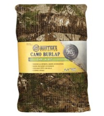 Packaged Burlap Cover Realtree Xtra Camouflage 54 Inches x 12 Feet