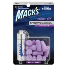 Mack's Shooters Slim Fit Soft Foam Earplugs 7 Pair
