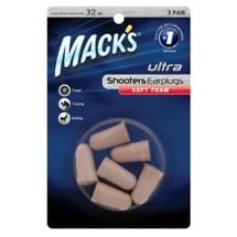 Mack's Shooters Ultra Soft Foam Earplugs 3 Pair