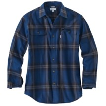 Men's Carhartt Hubbard Long Sleeve Plaid Shirt