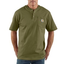 Men's Carhartt Workwear Short Sleeve Henley