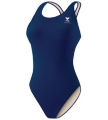 Women's TYR Poly Solid Max Back Swim Suit