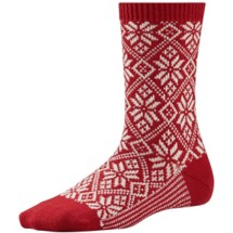 Women's Smartwool Traditional Snowflake Socks