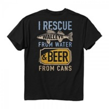 Men's Buck Wear Rescue Walleye T-Shirt