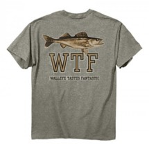 Men's Buck Wear Walleye Taste T-Shirt