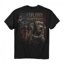 Men's Buck Wear Live Free Duck Hunt T-Shirt