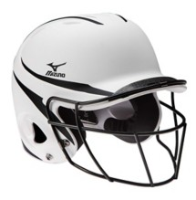 Mizuno MBH252 MVP Batters Helmet with Fastpitch Mask