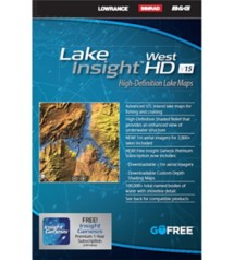 Lake Insight HD West Map Card
