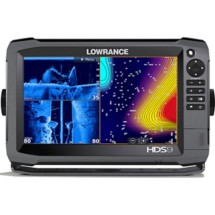 Lowrance HDS-9 Gen3 Touchscreen Fishfinder Chartplotter with TotalScan Transducer