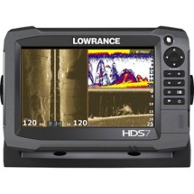 Lowrance HDS 7 Gen 3 Touchscreen Fishfinder Chartplotter with TotalScan Transducer