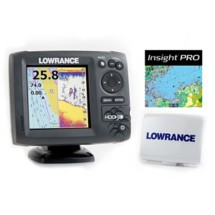 Lowrance Hook 5 DownScan Imaging FishFinder Bundle