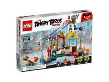 Lego Angry Birds Pig City Teardown